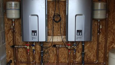 heating and air conditioning water heaters